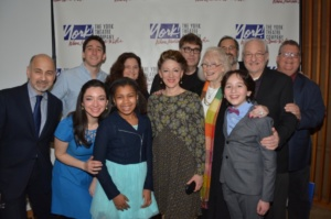 Margaret Styne widow of Jule Styne joins Annette Jolles, Darren R. Cohen and James Morgan with the cast- Ben Fankhauser, Tim Jerome, Julie Benko, Peyton Lusk, Lori Wilner, Neal Benari, Ned Eisenberg