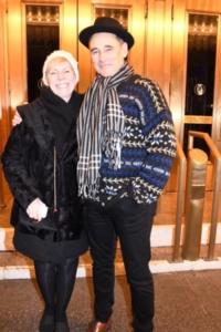 Claire Van Kemper, Mark Rylance
