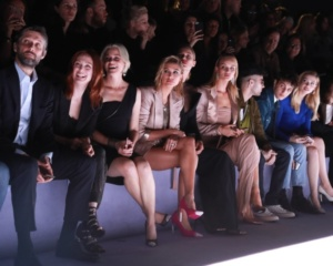 Julianne Moore, Elizabeth Banks, Rosie Huntington-Whiteley, Hailey Baldwin and Zayn Malik