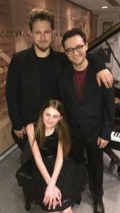 Benjamin Scheuer, Presley Ryan, Alan Schmuckler