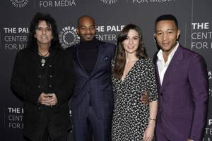 Alice Cooper, Brandon Victor Dixon, Sara Bareilles, John Legend