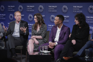 Robert Greenblatt, Chairman,Sara Bareilles, John Legend, Alice Cooper