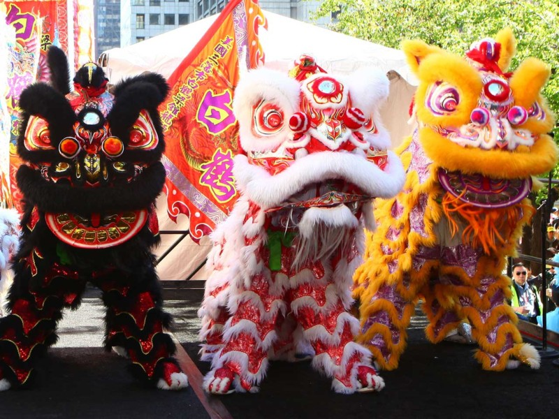 'Year of the Dog': People celebrate Chinese Lunar New Year
