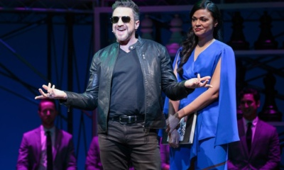 Raul Esparza, Karen Olivo, Chess,Kennedy Center