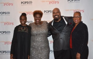 Nylah Capathia, Capathia Jenkins, James Monroe Iglehart and Sandra Kay Hill