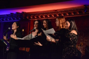 Samantha Massell, Alexandra Frost, Alex Hartman, Deirdre Donohue, Amisha Amy