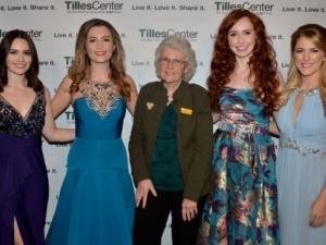 Mairead Carlin, Eabha McMahon, Genevieve Rafter Keddy, Tara McNeill and Susan McFadden