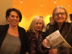 Linda Winer, Pat Addiss, Mary Cossett