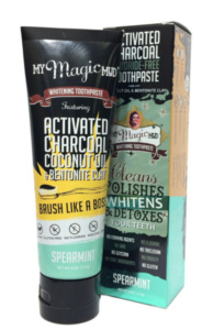 My Magic Mud, Activated Charcoal, Whitening Toothpaste