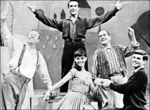 John Davidson, Stanley Holloway, Bert Lahr, Ricardo Montalban, Susan Watson