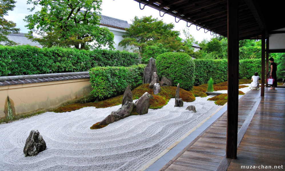 Learn the history of the japanese zen garden times for Japanese meditation garden