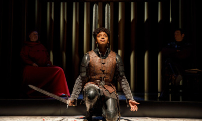 Condola Rashad in Saint Joan. Photo: Joan Marcus