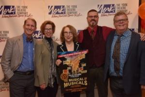 Evans Haile, JoAnne Bogart, Pamela Hunt, Eric Rockwell and James Morgan