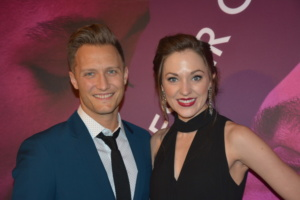 Nathan Johnson and Laura Osnes