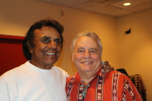 Johnny Mathis and Eddie Brigati