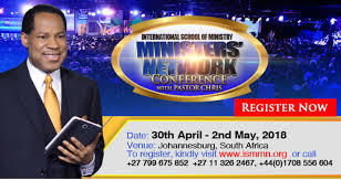 Pastor Chris Oyakhilome ,, International School of Ministry Conference