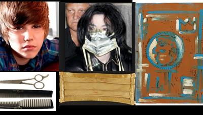 Lady Gaga, Jean-Michel Basquiat, Michael Jackson, Tupac Shakur, Justin Bieber