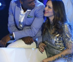 Leslie Odom Jr. and Katharine McPhee