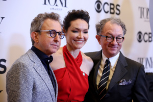 Thomas Schumacher, Katrina Lenk,William Ivey Long