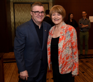 Nathan Lane, Susan Brown