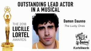 Damon Daunno, The Lucky Ones