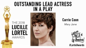 Carrie Coon, Mary Jane