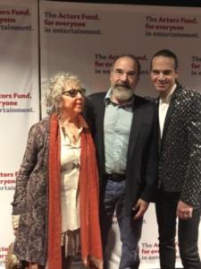 Kathryn Grody, Mandy Patinkin, Jordan Roth
