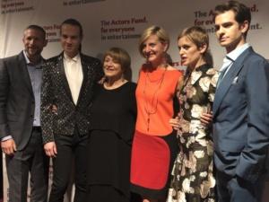 The Actors Fund, Tim Levy, Jordon Roth, Susan Brown, Marianne Elliot, Denise Gough, Andrew Garfield