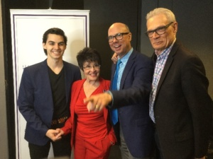 James T Kelly, Chita Rivera, Richard Ridge, Richard Jay Alexander