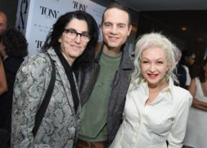 Tina Landau, Jordan Roth,Cyndi Lauper
