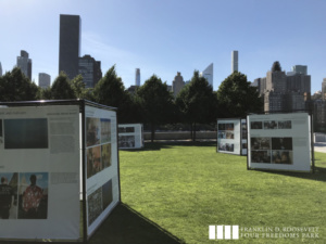 The Four Freedoms Cubes, Franklin D. Roosevelt Four Freedoms State Park