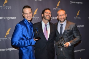 Jordan Roth, Tony Kushner, Tim Levy
