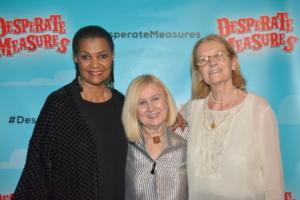 Willette Klausner, Pat Addiss, Mary Cossette