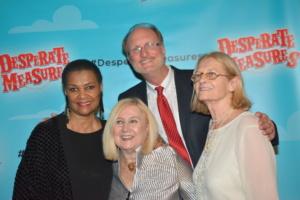 Willette Klausner, Pat Addiss, Ken Denison, Mary Cossette