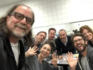 Sara Bareilles, Josh Groban, Ricky Kirshner , Glenn Weiss