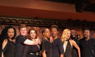 The cast of Smokey Joe's Cafe