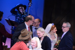 Photo Coverage: DESPERATE MEASURES Takes Opening Night Bows Off-Broadway! Conor Ryan, Pat Addiss, Ken Denison, Mary Cossette, Lauren Molina, David Friedman