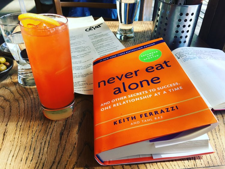 Keith Ferrazzi's Never Eat Alone Rad Summary   Times Square Chronicles
