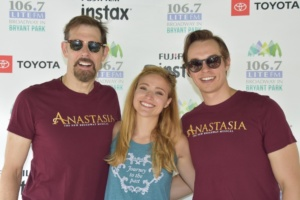 John Bolton, Christy Altomare, Zach Adkins