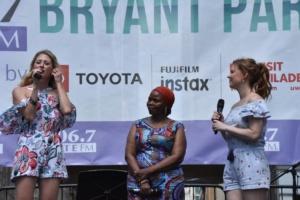Caissie Levy, Tshidi Manye, Patti Murin