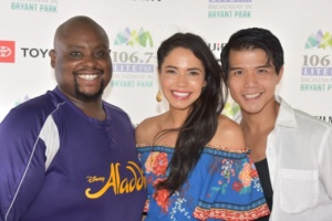 Aladdin, Major Attaway, Arielle Jacob, Telly Leung