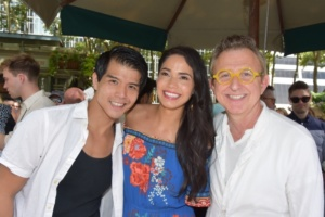 Telly Leung, Arielle Jacobs, Thomas Schumacher