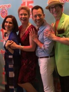 Stephanie D'Abruzzo, Jennifer Barnhart, John Tartaglia, Rick Lyon