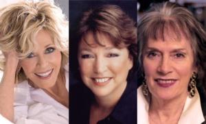 Jane Fonda, Susan Lacy, Annette Insdorf