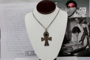 Elvis Presley Ankh necklace