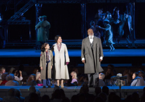 Kaylin Hedges, Lea Salonga, David Alan Grier