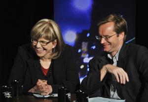 Michael Riedel, Susan Haskins