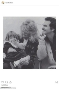 Kate Hudson, Loni Anderson, Burt Reynolds