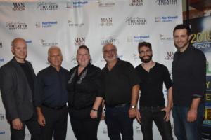 Julianne B. Merrill (Conductor and Keyboard) with tonight's orchestra that includes-Robert Dalpiaz, Joel Levy, Joe Boardman, Russ Brown, Ethan Hack-Chabot, Josh Endlich
