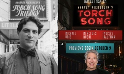 Rehearsals Begin For Harvey Fierstein's Torch Song